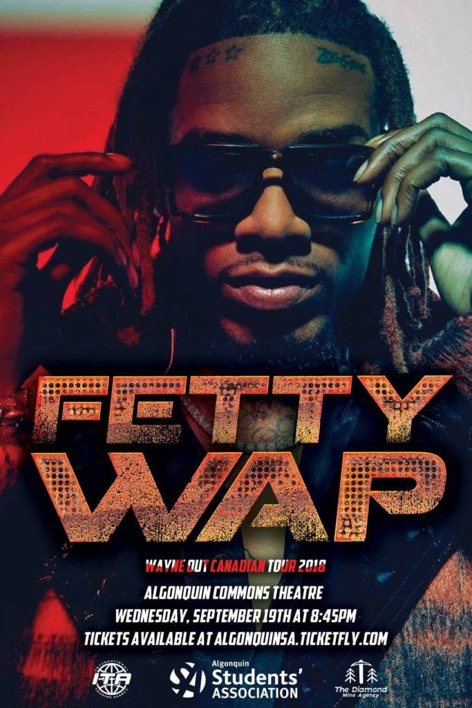 Fetty Wap - Tour Poster