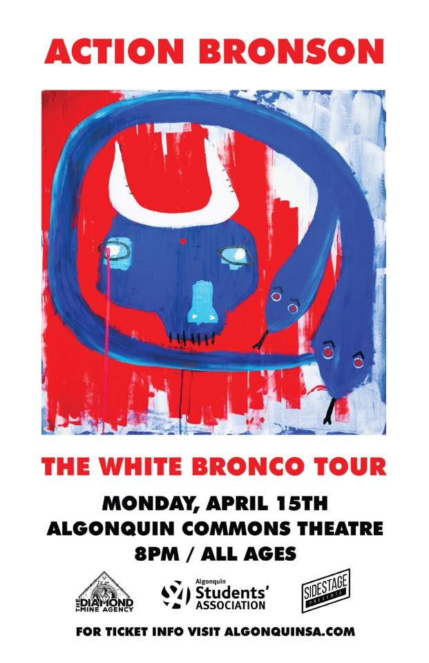 Action Bronson Tour Poster