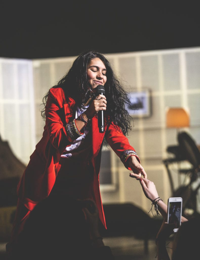 Alessia Cara on Stage