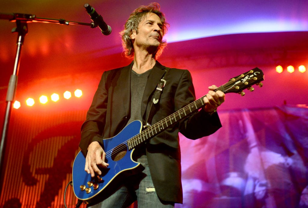 NEW ORLEANS, LA - NOVEMBER 2: Billy Squier performs as part of the 2013 Voodoo Music Experience at City Park on November 2, 2013 in New Orleans, Louisiana. (Photo by Tim Mosenfelder/Getty Images)