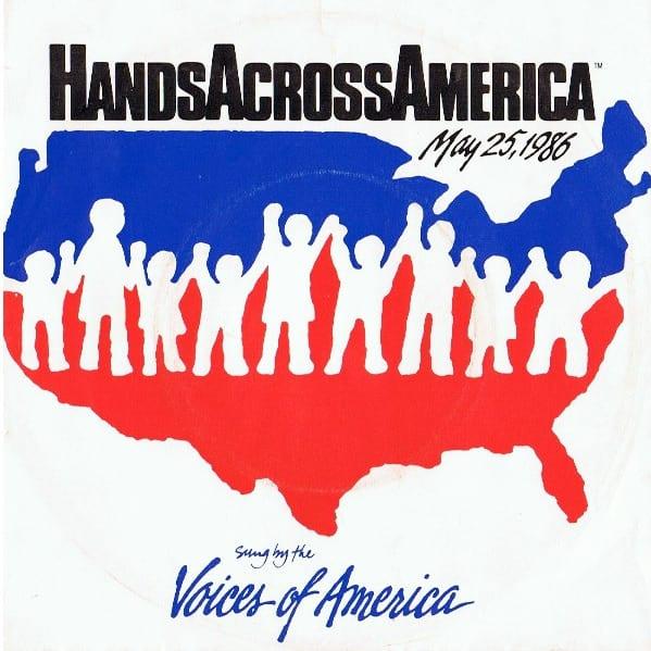 Hands Across America - This Week in Music