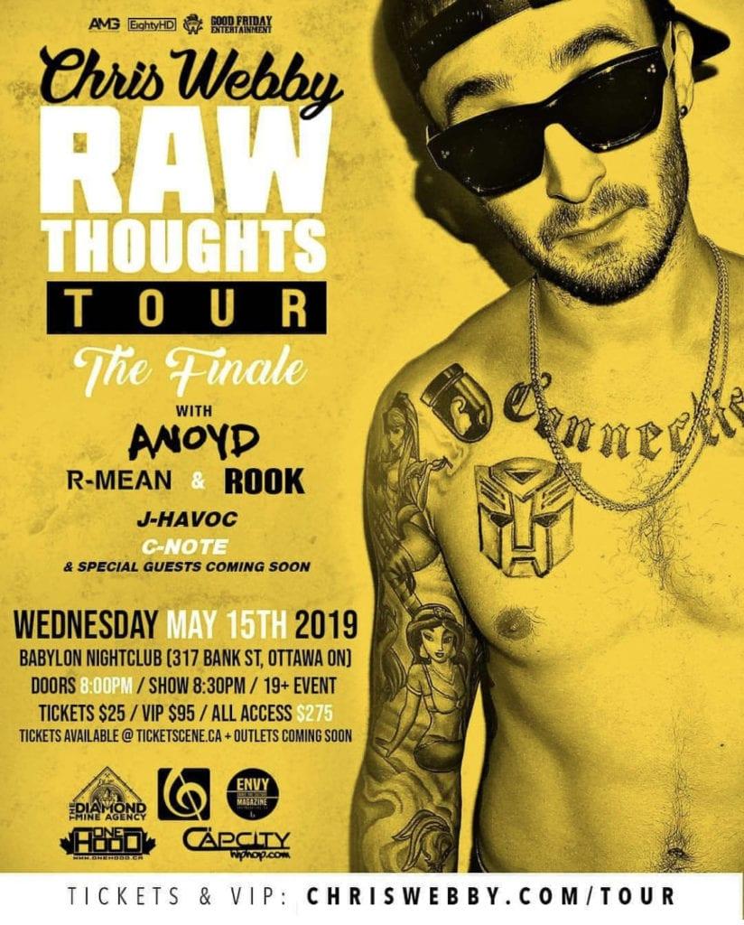 Chris Webby - Tour Poster