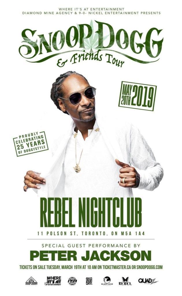 Snoop Dogg - Tour Poster