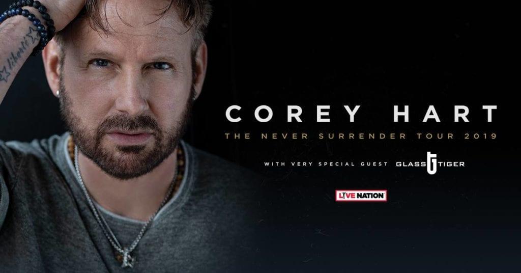 Corey Hart - Tour Poster