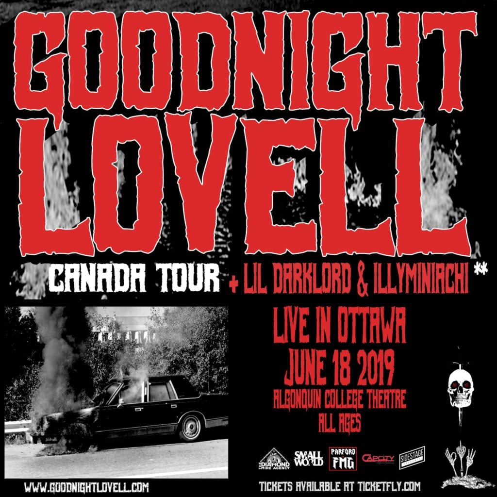 Night Lovell - Tour Poster