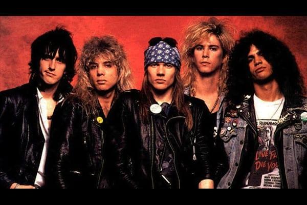 Guns N Roses - This Week in Music