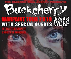 Buckcherry – Warpaint Tour