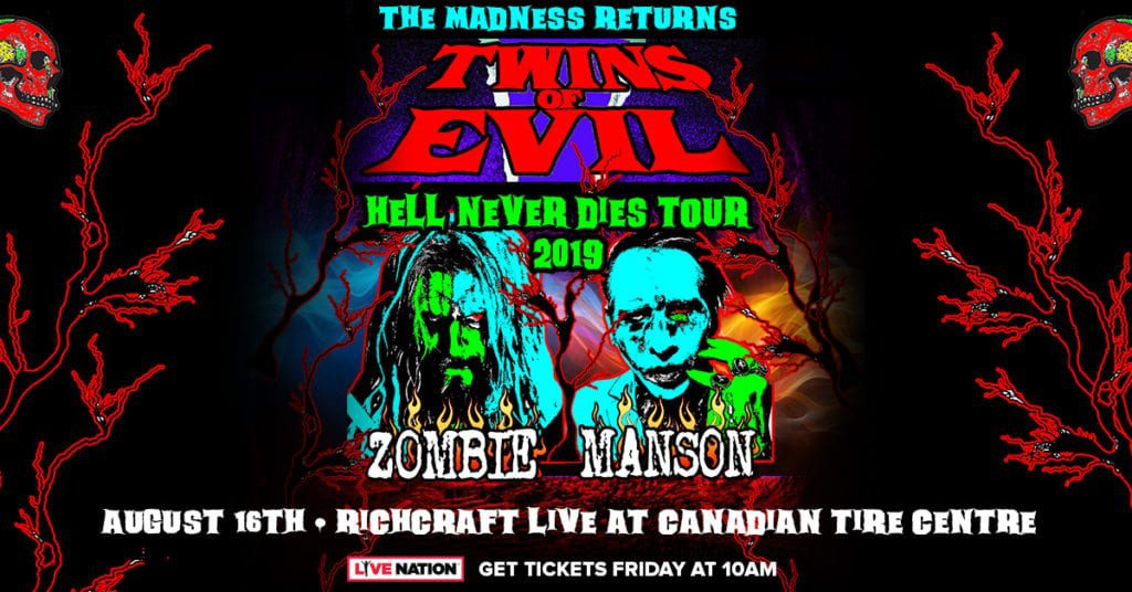 Twins of Evil - Tour Poster