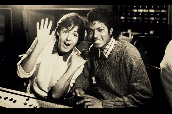 Paul McCartney + Micheal Jackson