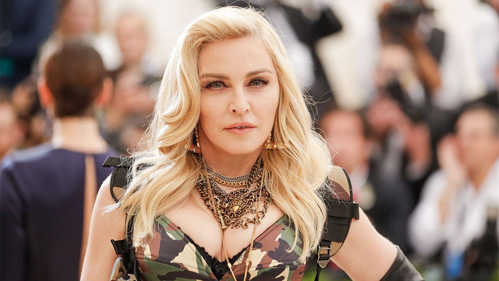 Madonna Mandatory Credit: Photo by Carl Timpone/BFA/REX/Shutterstock (8773364av) Madonna The Costume Institute Benefit celebrating the opening of Rei Kawakubo/Comme des Garcons: Art of the In-Between, Arrivals, The Metropolitan Museum of Art, New York, USA - 01 May 2017