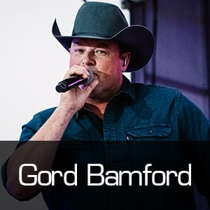 Gord Bamford at the Drive-in